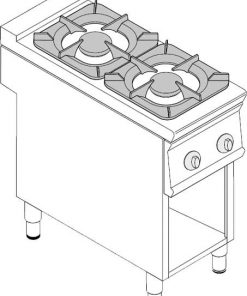 Sporáky a varidlá Plynové TECNO 900 ECO