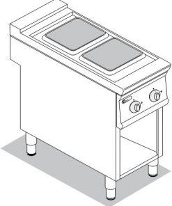 Sporáky a varidlá elektrické TECNO 900