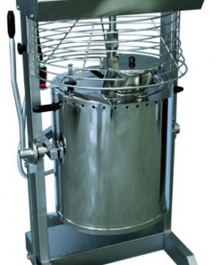 Zariadenie na výrobu krémov s miešaním a ohrevom